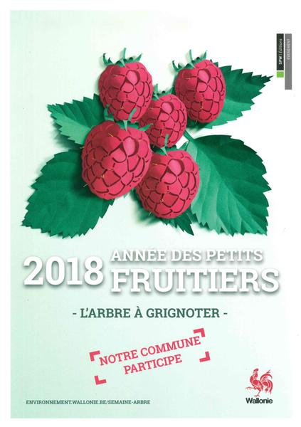 2018 Année des petits fruitiers