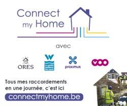 CONNECT MY HOME, le nouveau service pour faciliter vos raccordements