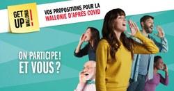 Get up Wallonia, participez à la relance de la Wallonie