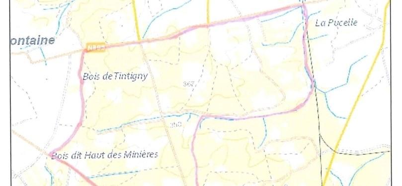 Interdiction de la circulation du public sur le territoire de chasse de Tintigny