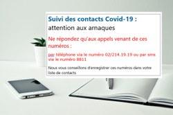 Suivi des contacts Covid-19
