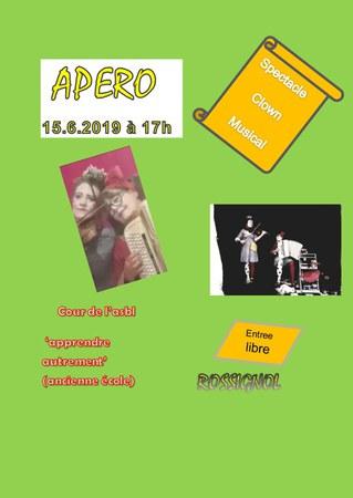Apéro concert spectacle Rossignol