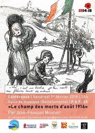 Conférence : Le Champ des morts d'août 1914
