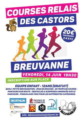Course relais des Castor à Breuvanne