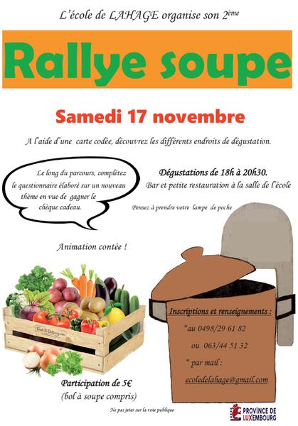 Rallye soupe