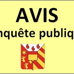 Enquête publique - Déplacement d'une partie du chemin vicinal n°16, situé Haut du Tilleul