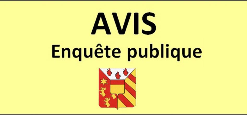 Enquête publique : suppression d'une partie de l'excédent de  voirie située à Poncelle