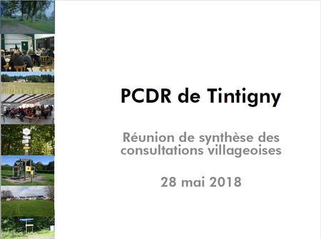 """PCDR """"Retour à la population"""""""